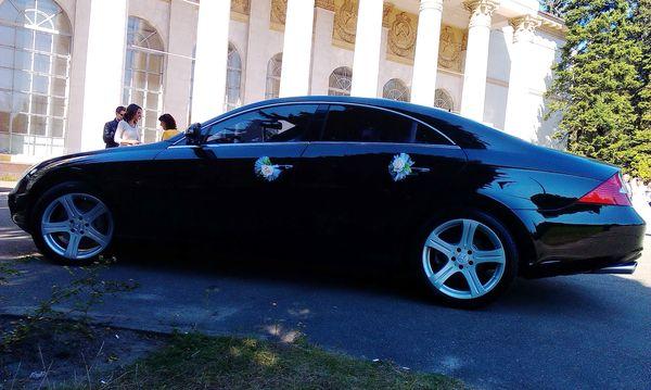 Mercedes CLS черный аренда в киеве