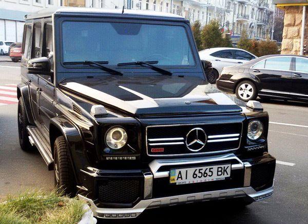 Mercedes Gelentwagen G65 кубик аренда с водителем киев