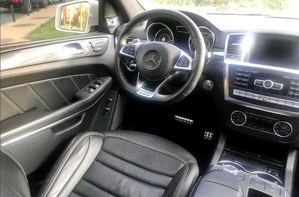 Mercedes GLS белый джип с водителем арендовать на прокат