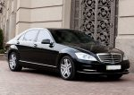 Аренда VIP авто Mercedes W221 S500L черный Киев цена