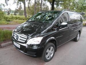 Mercedes Viano черный 2012