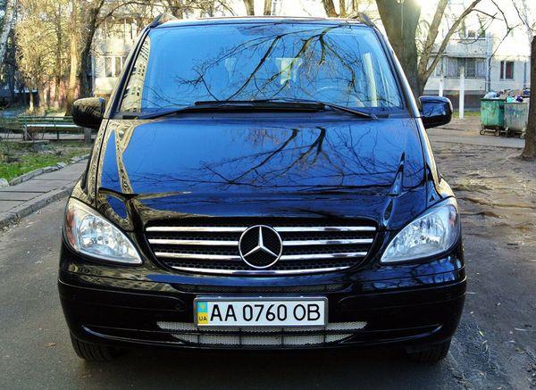 Mercedes Vito черный в аренду
