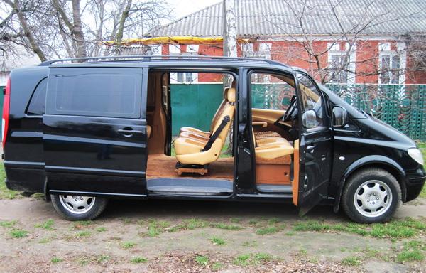 Mercedes Vito Extra Long черный
