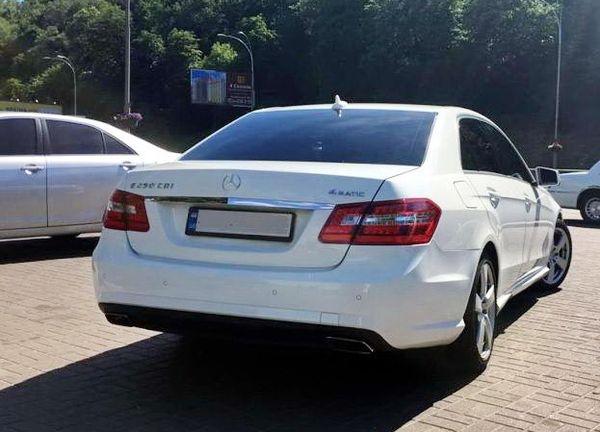 W212 NEW белый на прокат