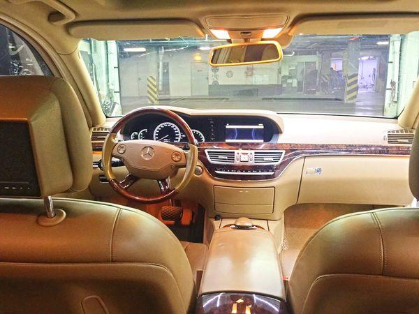 Mercedes W221 S550 белый прокат аренда киев