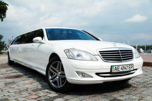 Лимузин Mercedes W221 S600  арендовать на свадьбу лимузин 221 мерседес