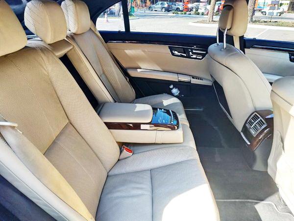 Mercedes-Benz W221 S500 black трансфер аєропорт борисполь