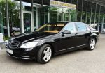 Аренда VIP авто Mercedes W221 S500 original restyle черный Киев цена