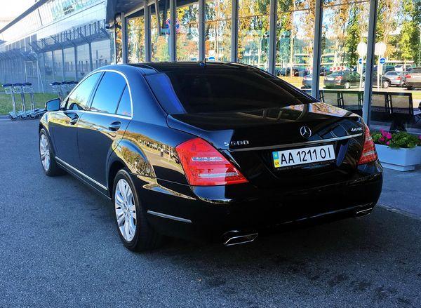 mercedes-w221-s500 аренда с водителем