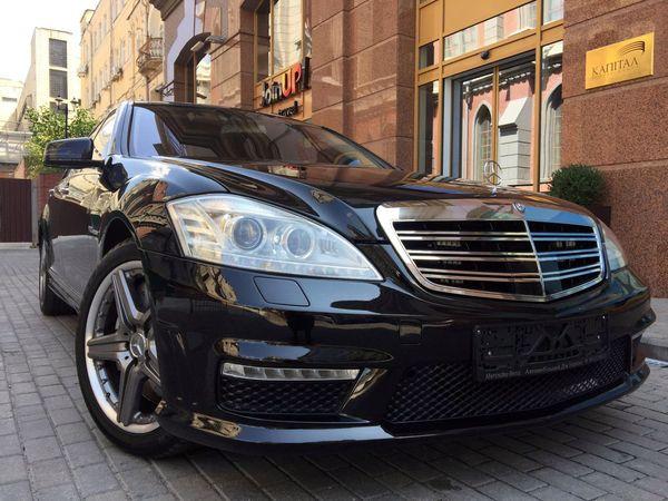 Mercedes W221 S65L AMG аренда
