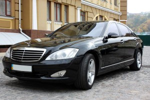 Mercedes W221S550L на свадьбу