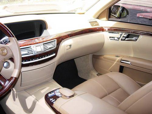 Mercedes W221S550Long черный