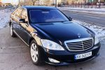 Аренда VIP авто Mercedes W221 S550Long black Киев цена