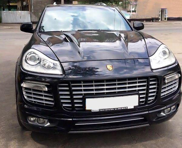 Porsche Cayenne черный на прокат