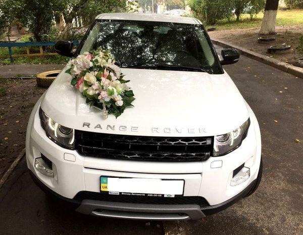Range Rover Evoque белый на прокат