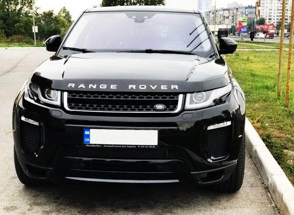 Range Rover Evoque черный прокат на свадьбу