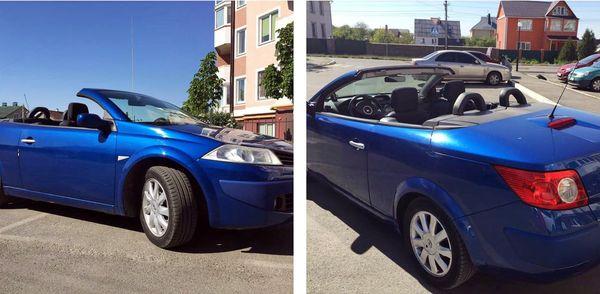 Renault megane coupe cabriolet на прокат в киеве