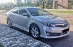 Аренда Toyota Camry V50 серебристая в Киеве