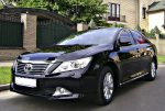 Аренда Toyota Camry V50 черная авто бизнес класса Киев цена