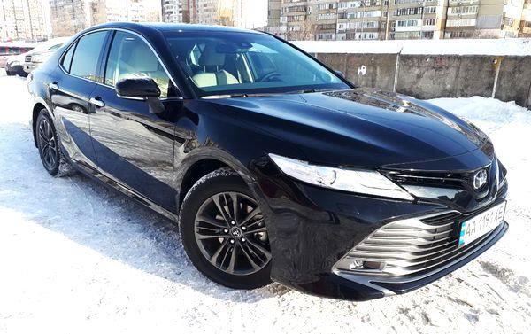 Toyota Camry V70 2019 заказать в аренду
