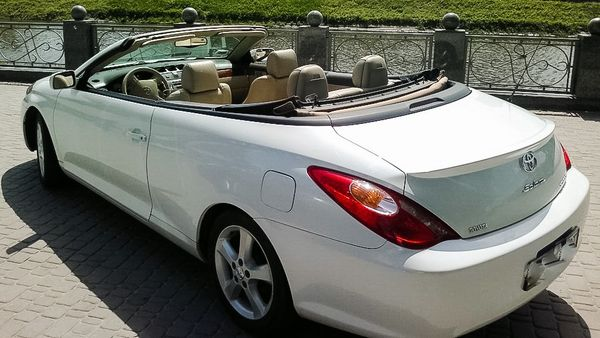 Toyota Solara белая прокат аренда