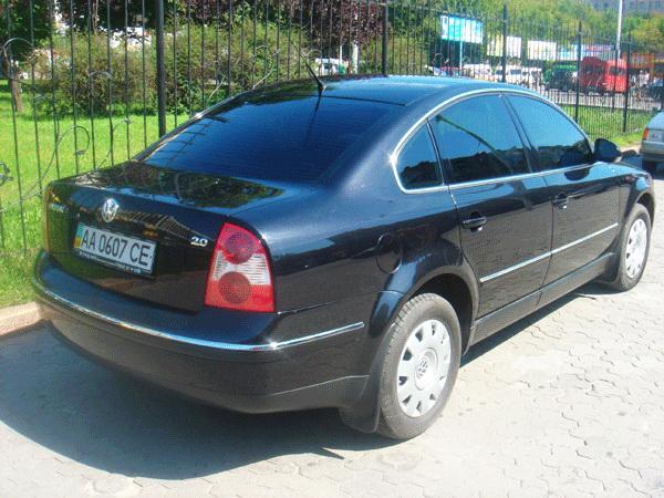 Volksvagen B5 черный