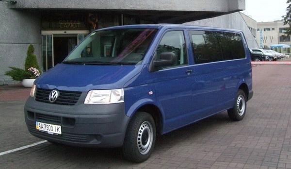 Volkvagen Transporter T5 микроавтобус на 10 мест