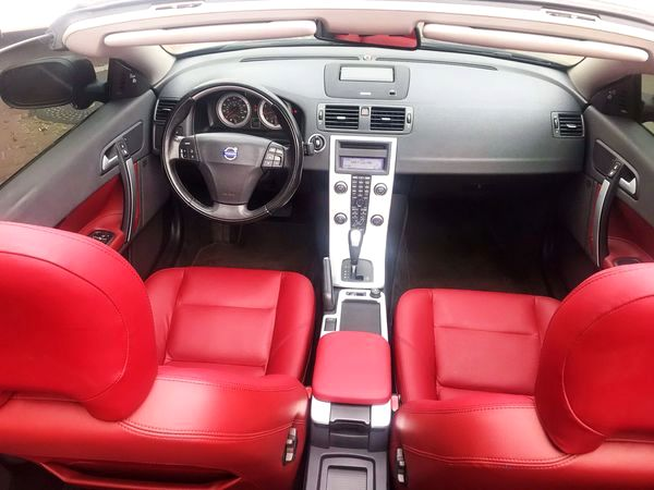 Volvo C70 Cabrio 2013 черный заказать на прокат киев