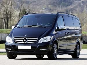 Mercedes Viano черный