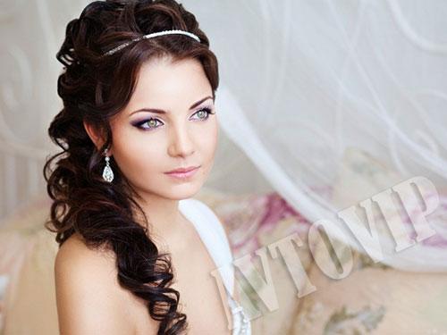 И свадебный макияж невесты на свадьбу