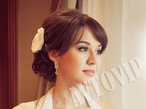 Свадебная прическа макияж на свадьбу