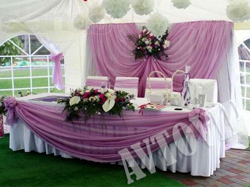 Украшаем свадебного зал своими руками