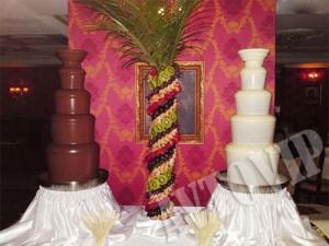 Свадебный шоколадный фонтан на свадьбу цена