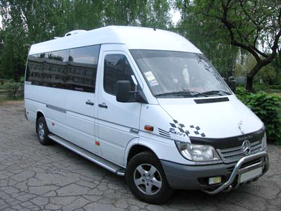 Mercedes Sprinter белый микроавтобус