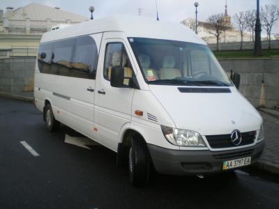 Mercedes Sprinter белый с бежевым салоном