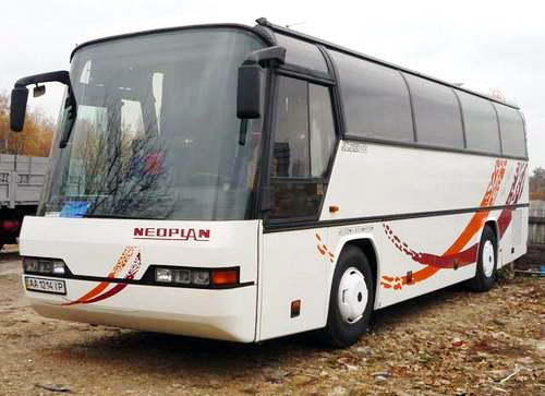 Neoplan автобус на 35 36 мест