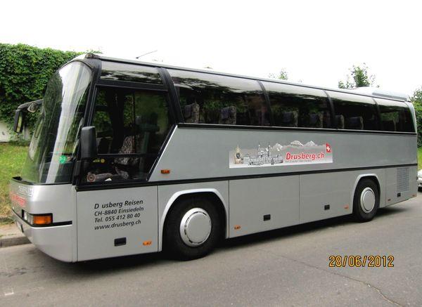 Автобус Neoplan в аренду