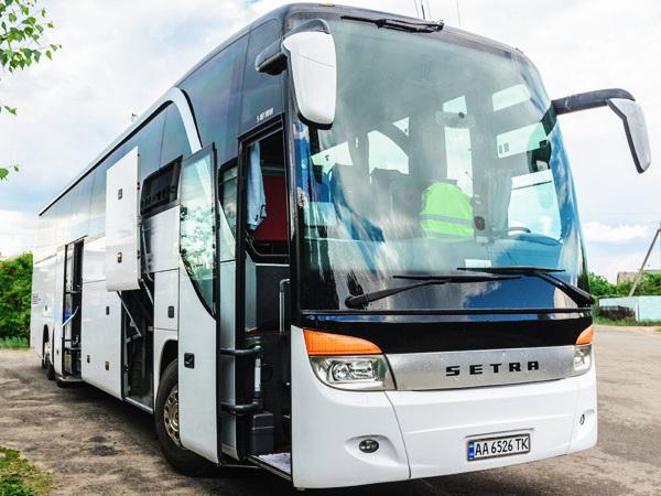 Setra S 417 HDH заказать автобус киев 60 мест