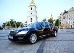Аренда Mercedes W221 S500 original restyle авто бизнес класса Киев цена