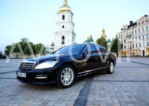 Mercedes W221S65 черный новый