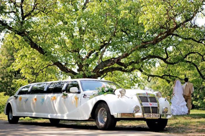 ретро лимузин на свадьбу прокат аренда киев