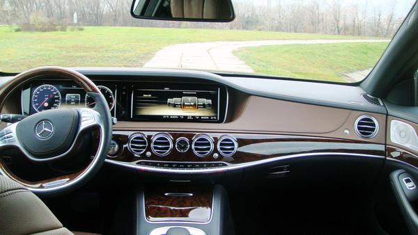 Mercedes W222 S500 новый черный