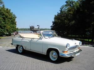 Volga Gaz 21 кабриолет белая