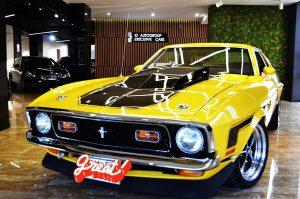 Ford Mustang Cobra Jet 1971 аренда на съемки
