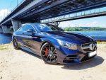 Аренда авто бизнес класса Mercedes-Benz S560 AMG Coupe синий