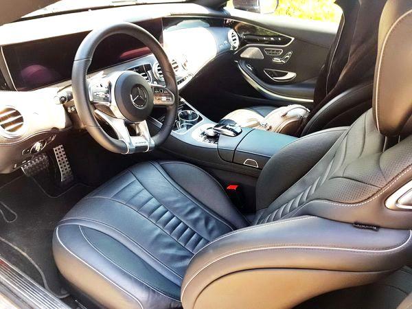 Mercedes-Benz S Coupe аренда на свадьбу с водителем