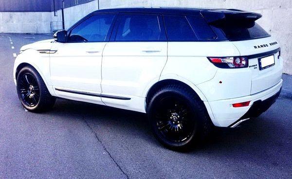 Range Rover Evoque белый аренда на свадьбу