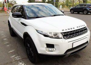 Range Rover Evoque белый арендовать на прокат
