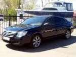 Аренда Toyota Avalon черная авто бизнес класса Киев цена