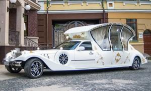 Excalibur ретро лимузин карета киев
